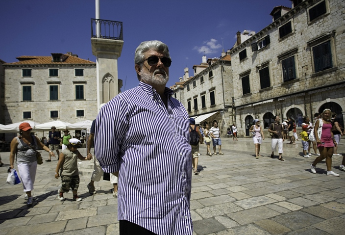George Lucas in Dubrovnik, Croatia - Photo by: Siniša Sunara / Cropix