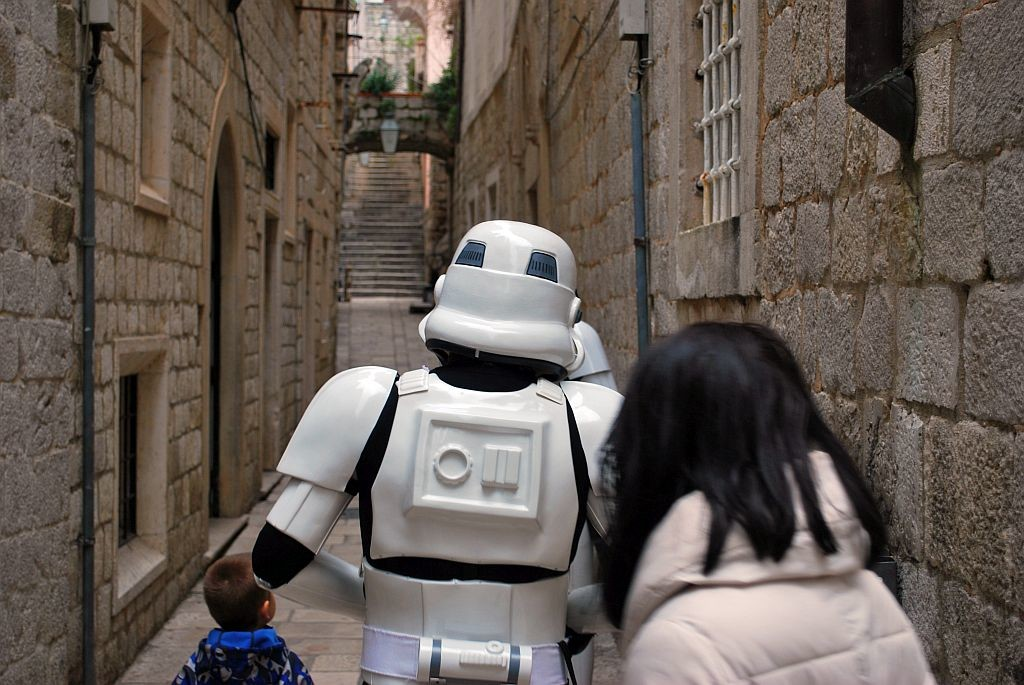 Imperial forces had to retreat through Dubrovnik's narrow streets