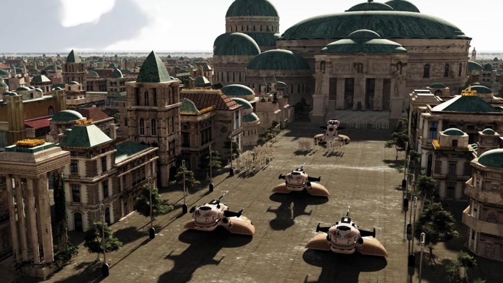 Planet of Naboo, image by www.rodluc.com