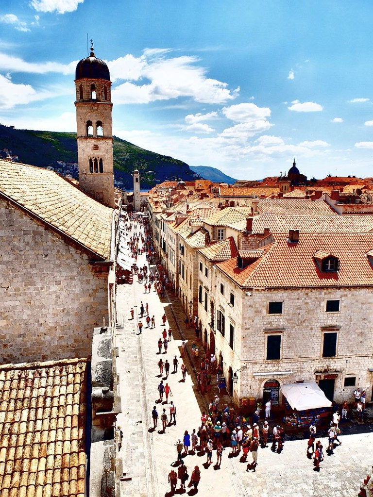 Dubrovnik main street - Stradun, photo Insider Holidays