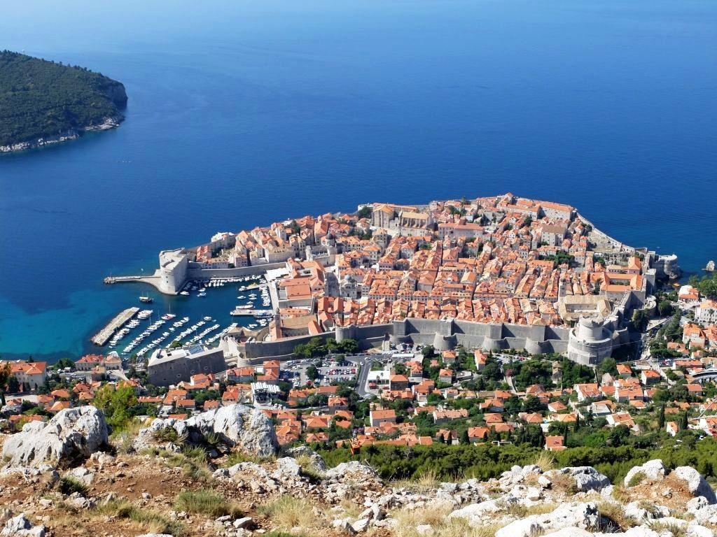 Dubrovnik's Old City Centre, photo Gabriela Gruica