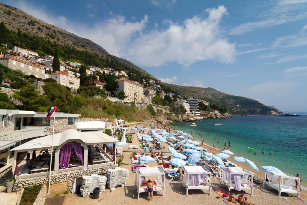 Banje Beach, Dubrovnik, photo Flare Studio