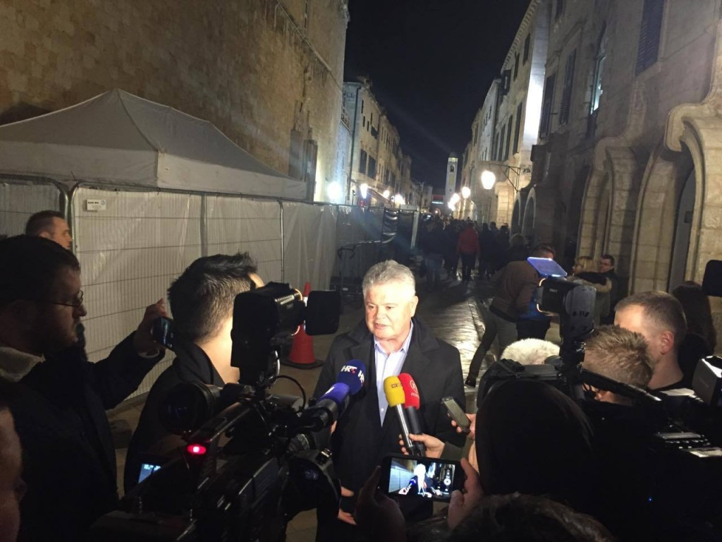 Mayor of Dubrovnik was also present, photo MP
