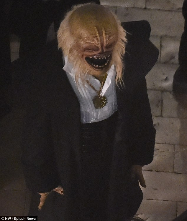 Interesting looking alien, photo DailyMail.co.uk