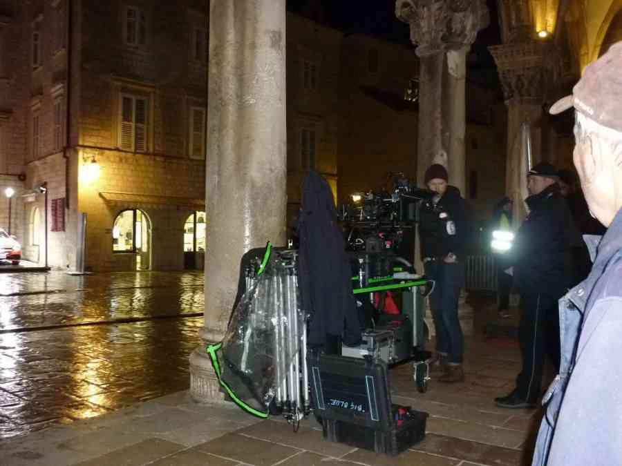 Behind the scenes, photo StarWarsNewsNet