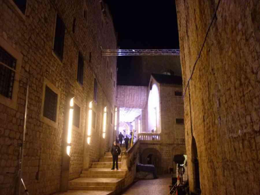 Set in the Dominican Monastery complex, photo StarWarsNewsNet