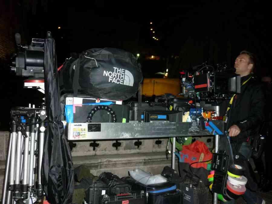 Camera ready on Dubrovnik set, photo StarWarsNewsNet