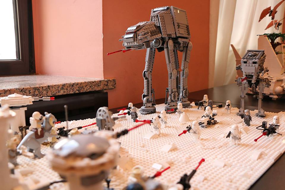 Lego Star Wars Exhibition drew in the youngest attendees, photo Zaigrana Koza