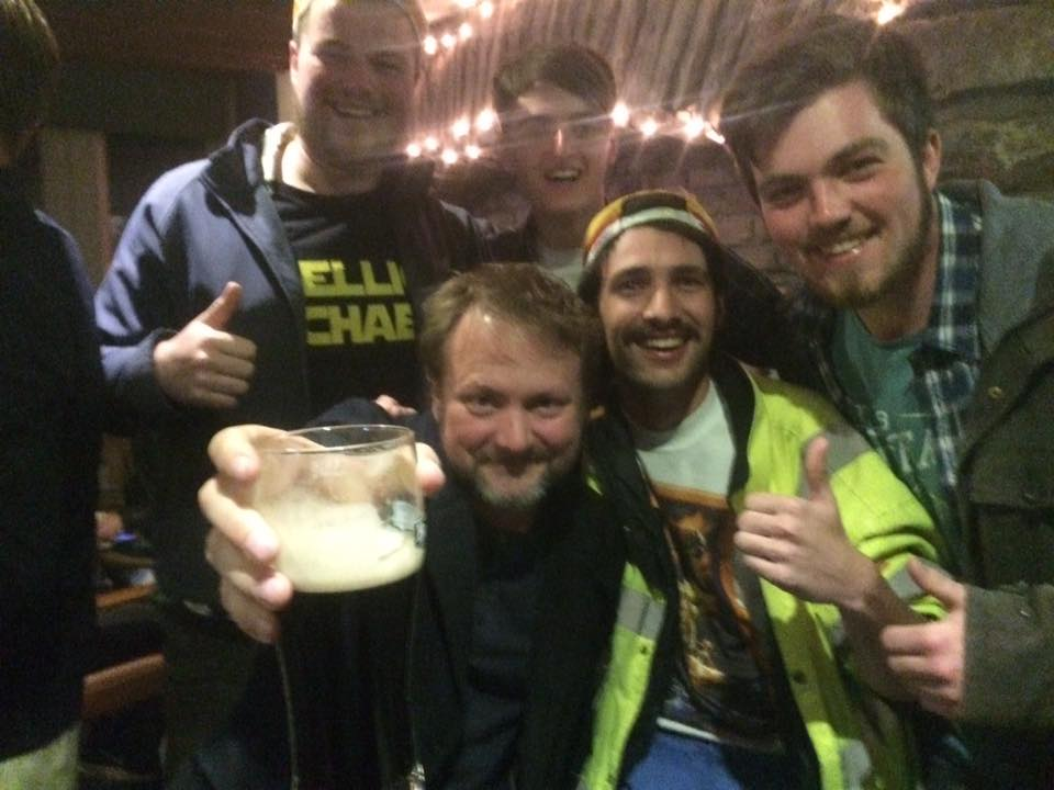 Local fans get to hang out with Rian Johnson